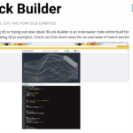 【Bl.ock Builder】 d3.jsのサンプルを試すのに便利なブラウザエディタ