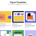 【Figma】UIワイヤーフレーム、UXフロー図テンプレ集。